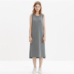 Madewell sleeveless tee dress